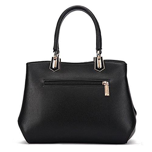 ANNE Sacchetti di spalla delle borse delle cuciture di modo delle donne Red