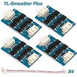 4pcs imprimante 3D accessoires filtre Module d'additifs TL-Smoother Plus pour le filtre d'élimination de filtre d'élimination de filtre moteur 3D Pilotes de moteur de pinter Terminator Reprap MK8 I3...