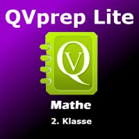 QVprep Lite Mathe für 2. Klasse in German Language