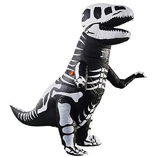 Lustig Kostüm Knochen - Zhanghaidong Halloween Spielzeug Knochen Tyrannosaurus Kostüm Lustige Kostüm Cosplay Aufblasbare Anzug Tyrannosaurus Rex Kostüm Tyrannosaurus Rex Halloween Dekorationen Requisiten