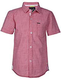 Super Young Shirt for Boys - Coral Shirts - Cotton Material - Stylish Shirt for Boys - with Front Pocket