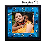 Huppme Personalized Wooden Wall Clock wi...