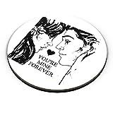 PosterGuy Mine Forever Love, Anshu_Art, Valentine , Couple , Mug , Art , Watercolor , Posterguy Fridge Magnet