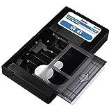 Hama 44705 -Cassette adaptador VHS-C/VHS Manual, negro