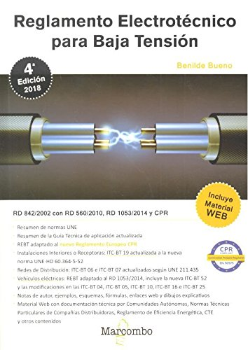 REGLAMENTO ELECTROTECNICO PARA BAJA TENSION (REBT) (4ª ED )