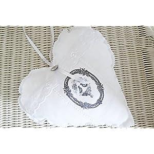 Unikat handmade Zierkissen 'Tauben' Kissen Dekokissen