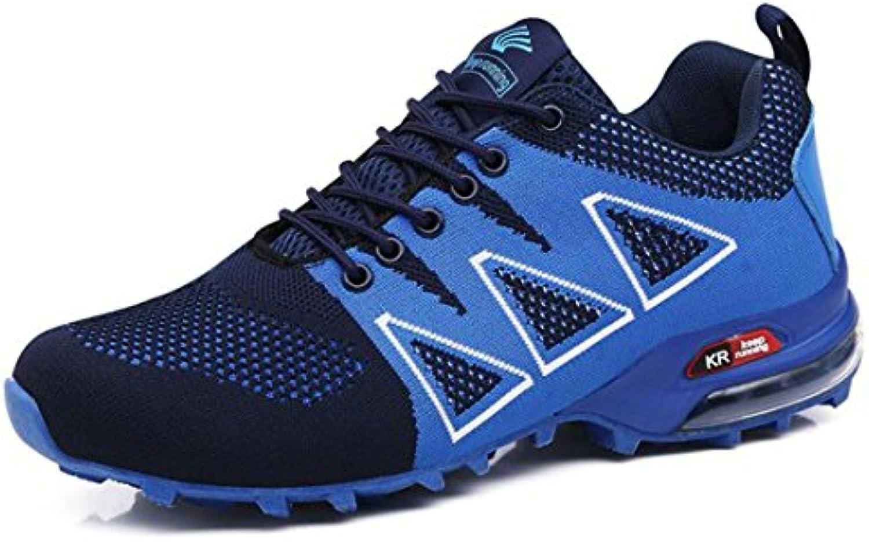 Sportschuhe der Männer Im Freien  Fliegende Gesponnene Breathable Ineinander Greifensportschuhe  Wandernde Schuhe