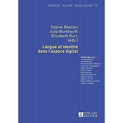 Langue et identité dans lespace digital (Sprache – Kultur – Gesellschaft t. 15)