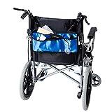 Walker bag per passeggiate, deambulatori o scooter universale deambulatore sacchetto impermeabile resistente per anziani, anziani, disabili LYB01, colore blu