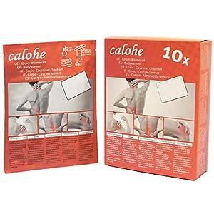 Wärmepflaster für Rücken,Schulter, Nacken, Bauch I Wärmepad, Wärmespender für Massage und Entspannung   10 Stück
