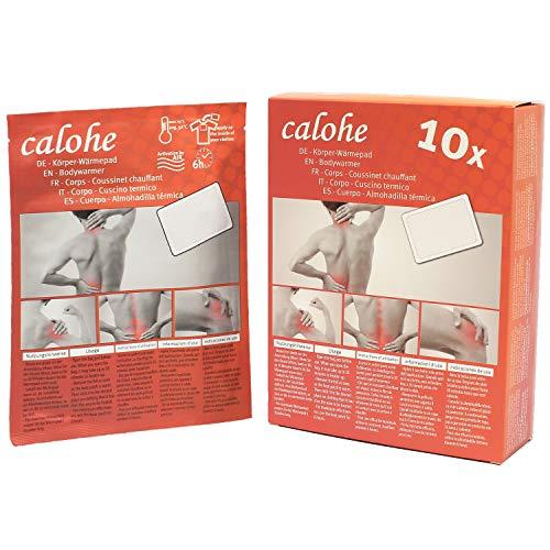Wärmepflaster für Rücken,Schulter, Nacken, Bauch I Wärmepad, Wärmespender für Massage und Entspannung | 10 Stück
