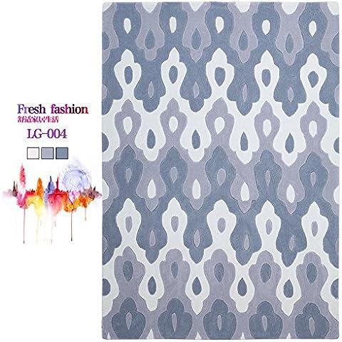 Argyle escandinava minimalista moderno salón de alfombras sofás de estilo 'puf' dormitorio con literas y preciosas alfombras de borde y abstracta ,120×170cm,LG-004