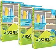ABSORBIA Hanging Pouch Moisture Absorber For Closets, Wardrobes & Almirah, 400G absorbs upto 1 litre moist