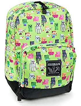 Minecraft Steve Overworld Sprites Backpack