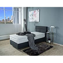 suchergebnis auf f r boxspringbett 100x200 mit. Black Bedroom Furniture Sets. Home Design Ideas