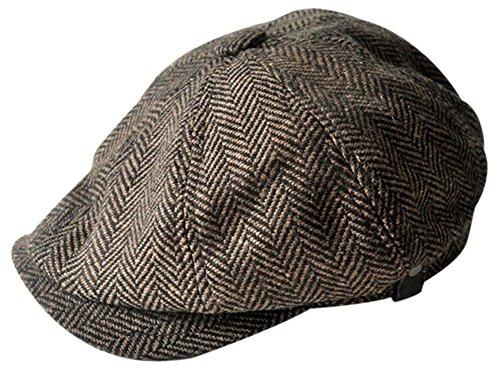 MINAKOLIFE Chapeau Casquette Vintage 'Shelby' Vintage Chapeau Casquette Cabbie Chapeau Gatsby Ivy Chapeau Irlandais Chasse
