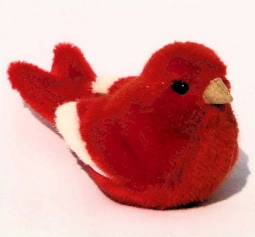 Kösen Kanarienvogel, rot