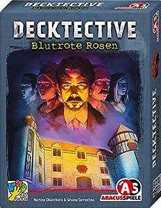 Abacusspiele 38194 Decktective - Juego de Cartas (Juego de Cartas), diseño de Rosas Rojas