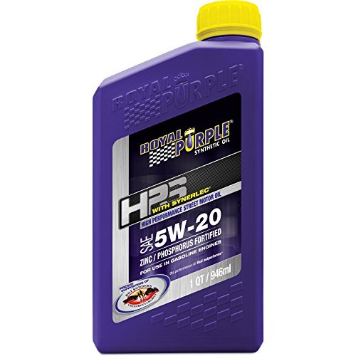 Royal Purple 31520 HPS 5W-20 High Performance Street Synthetic Motor Oil with Synerlec - 1 qt. by Royal Purple