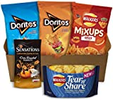 Walkers Doritos & Sensations Crisps & Snacks Party Box (5 Bags)