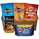 Walkers Doritos and Sensations Crisps and Snacks Party Box, 775 g