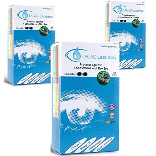 Lagad Lacrima Dry Eye Nutritiona...