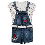 #7: Zadmus Girls Denim Dungree Dress (6 Months - 5 Years)