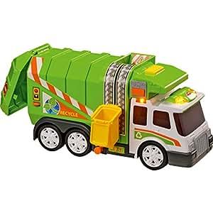 TEAM CITY - Camion poubelle sons et lumières