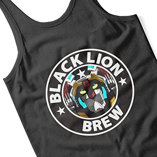 Voltron Black Lion Brew Coffee Men's Vest Black