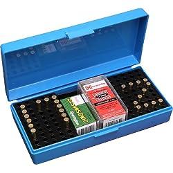 Boîte de Rangement pour 100 Cartouches de Calibre 22LR