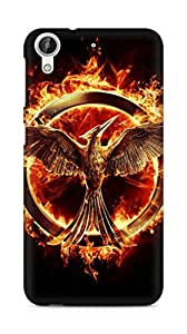 Amez designer printed 3d premium high quality back case cover for HTC Desire 626 LTE (Mockingjay the hunger game)