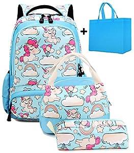 Mochila Escolar Chica Unicornio Linda