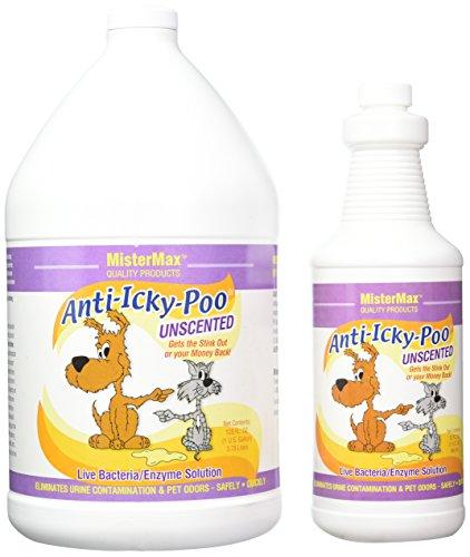 MisterMax Anti ICKY Poo geruchloses L & Quart (Fleck Quart)