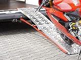 MTP-Racing Alu Auffahrrampe Rampe 340 kg klappbar Motorradrampe