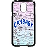 Cry Baby Song Art - Melanie Martinez Case / Color Black Rubber / Device Samsung Galaxy S5