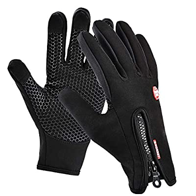 Motenik Thermal gloves,Winter Gloves,Cycling gloves for Men and Women,Touch Screen Gloves,Windproof Waterproof Outdoor Leisure Skiing Cycling Camping Hiking Gloves : everything 5 pounds (or less!)