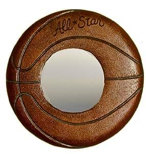 basketball spiegel f r kinderzimmer k che haushalt. Black Bedroom Furniture Sets. Home Design Ideas