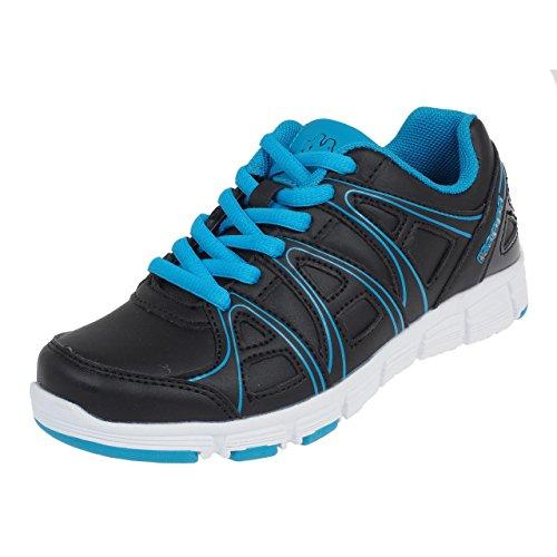 Kappa - Ulaker pu jr lace noirble - Chaussures mode ville Noir