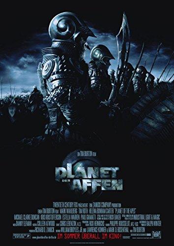 Planet der Affen: A (2001) | original Filmplakat, Poster [Din A1, 59 x 84 cm] (Affen Original Der Der Planet)