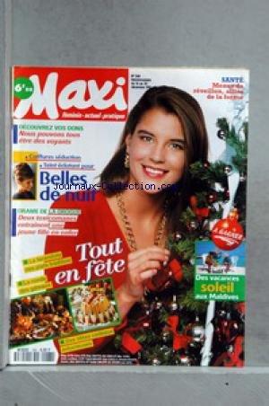 MAXI [No 268] du 16/12/1991 - SANTE - ME...