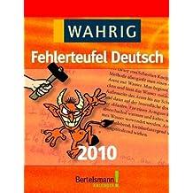 Kalender Wahrig Fehlerteufel Deutsch 2010