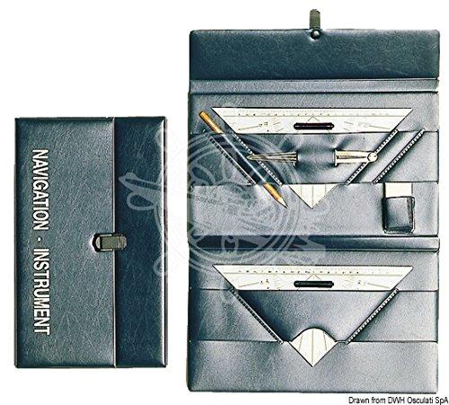 Osculati 26.142.45 - kit carteggio con custodia