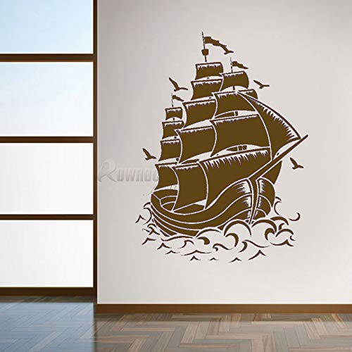 guijiumai Rownocean Nautical Home Decor Vintage Segelboot