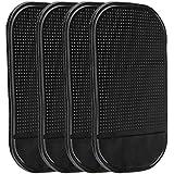 Rrimin Black Magic Sticky Pad Anti Slip Mat Car Dashboard for Cell Phone 4PCs