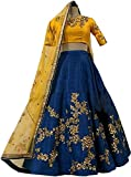 Suppar Sleave Women's Tappeta Lehenga Choli (Multicolor_Free Size, Semi-Stitched )