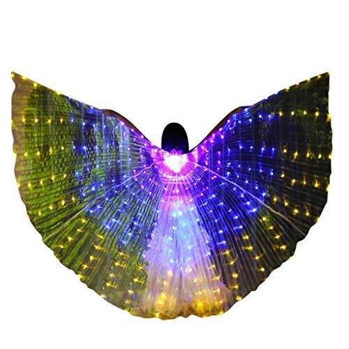 wings wings tanzen grün + saphirblau + lila ()