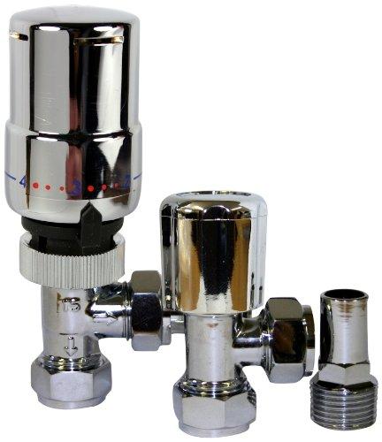 Tower Flue components Trvpackch-Valvola termostatica-cromato