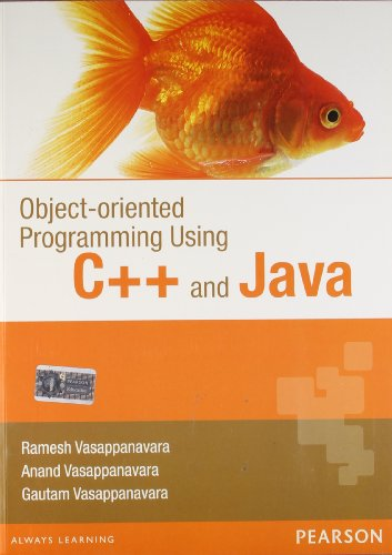 Object Oriented Programming Using C++ and Java, 1e