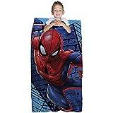 Franco Spiderman Niños Bolsa de dormir con integrado – Juego de mochila, ...