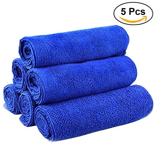 WINOMO 5St Microfaser Handtuch Premium Ultra Kleine Reinigungstücher für Küche Auto Schmutz Reinigung